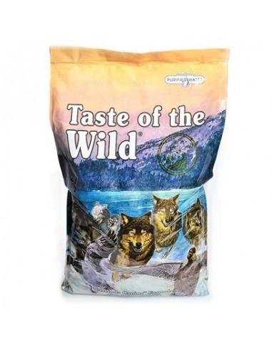 Taste of the Wild Wetlands Canine - Pato, codorniz y Pavo