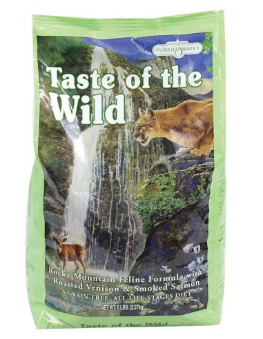 Taste of the Wild Rocky Mountain Feline - Venado y Salmón