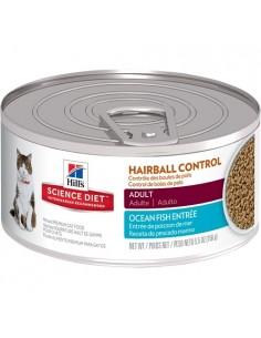 Hill's Lata Gato Adulto Hairball control Ocean Fish - Pescado - 156gr