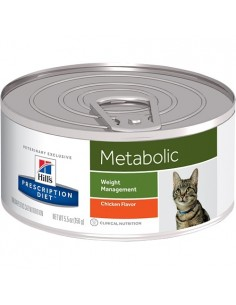 Hill's Lata Gato m/d - Metabolic - 156gr