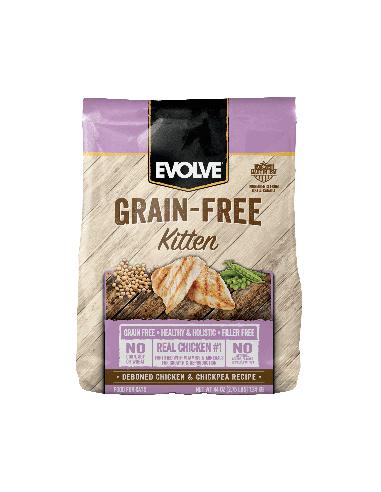 Evolve Cat Grain Free Kitten Chicken - Pollo
